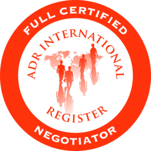 ADR register negotiator en relatietherapeut